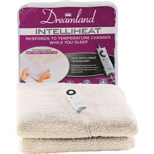 Dreamland Intelliheat Single Fleecy Electric Blanket (mattress protector) £19.99 @ Argos on eBay