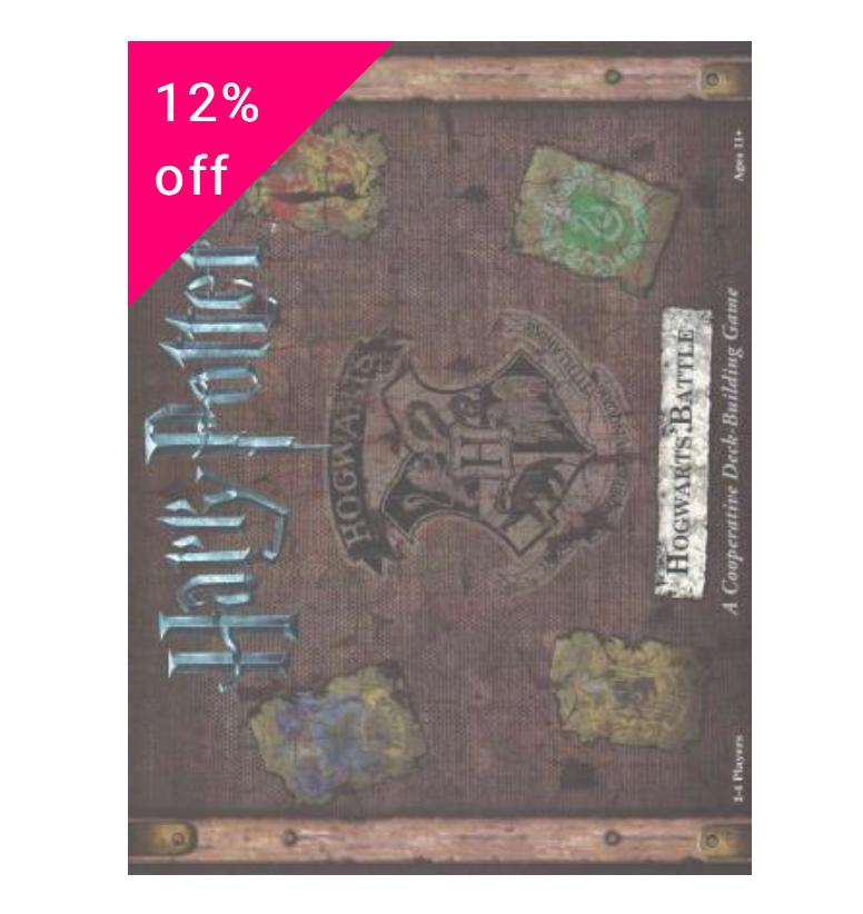 Harry Potter Hogwarts Battle Board Game - £31.35 delivered @ Book Depository