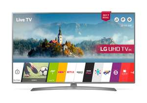 "LG 49UJ670V 49"" ULTRA HD 4K TV CAN PRICE MATCH WITH JOHN LEWIS £439 @ Crampton & Moore"