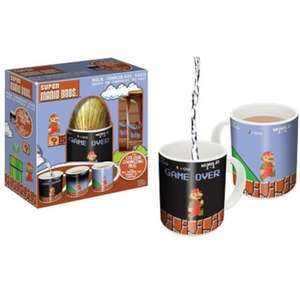 Super Mario Bros Easter Egg With Colour Changing Mug - £2.99 at B&M