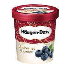 Blueberries Cream Food discount offer