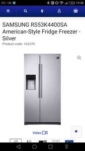 Samsung American Fridge freezer + 5 year warranty at Currys for £699
