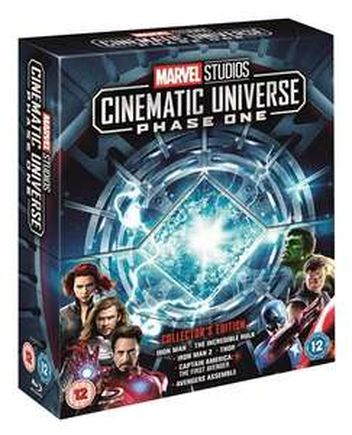 Marvel Cinematic Universe Phase 1 and 2 Blu-Ray - Sainsbury's £75