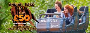 Chessington World of Adventures Annual Pass £50 pp