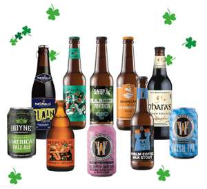 10 Irish craft beers for just £10 with O2 Priority
