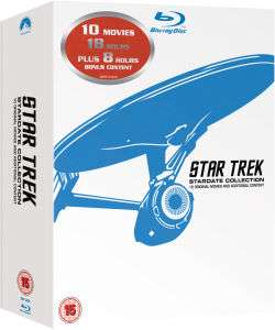 Star Trek - All the movies on Blu-ray - Possibility of extra 10% off £25.99 @ Zavvi