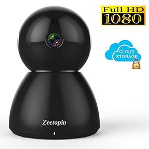 1080P HD Wi-Fi  Pan Tilt Camera - Amazon Prime £28.39 Sold by Zeetopin_outlet and Fulfilled by Amazon