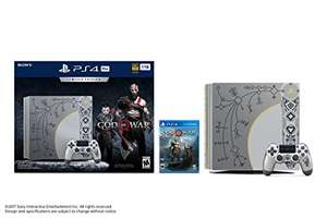 PlayStation 4 Pro 1TB Limited Edition Console - God of War Bundle pre order for dispatch on the 20/04 @ amazon US £365