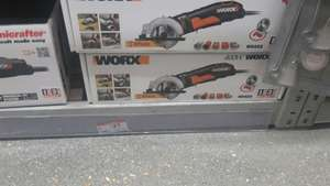 WORX 400W MINI SAW (B&Q in store only) for £27