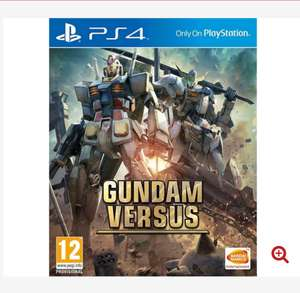 Gundam Versus PS4 Game , for £27.99(with 1,400 delivery points ) delivered @365games