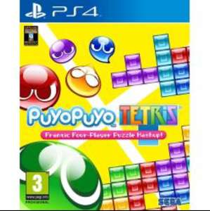 Puyo Puyo Tetris (PS4 - Used Very Good) VideoGames , for £14.99 delivered by EBay Music Magpie