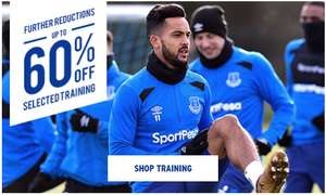 Up to 60% off Everton kits