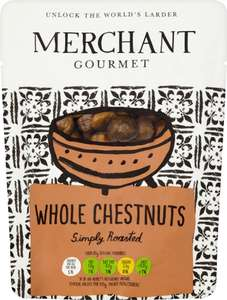Christmas in a bag! Merchant Gourmet Whole Chestnuts (180g) £1 at Asda Online