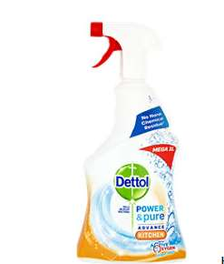 Dettol Power & Pure Kitchen Cleaning Spray 1L £2 @ Asda