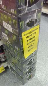 Monster energy 8x500ml (68p per can) £5.49 @ b&m instore