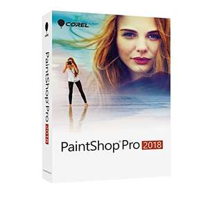 Corel PaintShop Pro 2018 (PC) reduced to £34.99 at Amazon. Also  available at this price at Currys and PC World