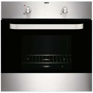Zanussi ZOB140X Built-in Single Oven in Stainless Steel £129 + £3.99 del @ Co-op electrical