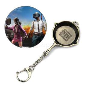 PlayerUnknown's Battlegrounds (PUBG) Pan Keychain only 20p delivered! - Zapals