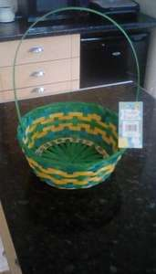 Large Wicker Easter Basket 99p @ QD Stores