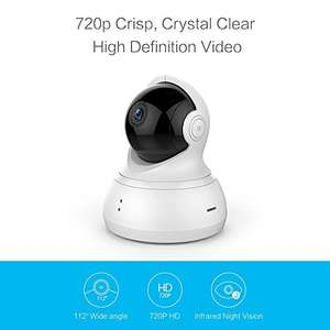 The 720p version of the YI Dome is now £22.99 after - £12:00 promotion and choose free delivery. Best price I have seen this camera - Sold by YI Official Store UK and Fulfilled by Amazon