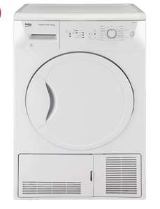 Beko DCU8230W 8kg condenser tumble dryer £202.99 @ Co-op electrical