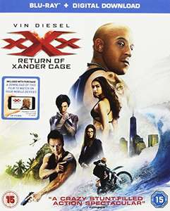 XXX: The Return Of Xander Cage (Blu-ray + Digital Download) iTunes for £4.49