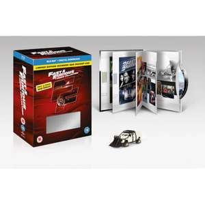 Fast And Furious 1-7 Blu-Ray Boxset Digibook Bonus Disc and Car Zavvi for £10.79 (use code)