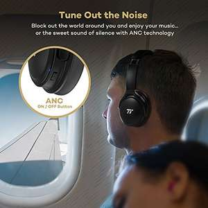 Taotronics active noise cancelling headphones Sold by Sunvalleytek-UK and Fulfilled by Amazon £41.99