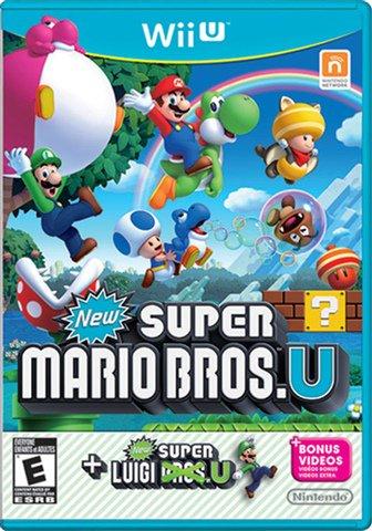 New Super Mario Bros. U & Super Luigi U £12.00 (Pre-owned) @ CEX instore