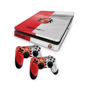 Official Sunderland FC PS4 Slim / Xbox One S Console Skin and 2x Controller Skin Combo Pack £2.80 @ 365games
