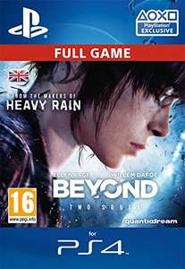 Beyond two souls Sony PlayStation 4 digital download £6.49 @ Amazon