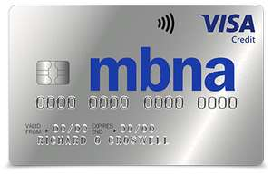MBNA Platinum credit card 36 months 0% on balance transfers