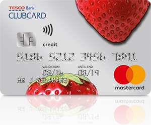 Tesco Bank credit card 36 months 0% on balance transfers, 2.69% fee