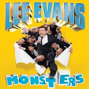 """""""Monsters"""" &""""Roadrunner"""" Lee Evans tours audio @ Google Play 99p each"""