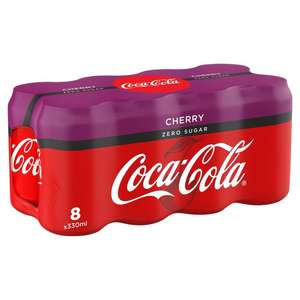 Coke Zero Cherry 8 can multipack, £2 in store @ Morrisons and online