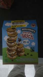 Ben & Jerry's son of a 'wich 52p @ Tesco - Glastonbury