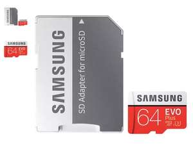 Samsung Evo+ 64GB Micro SDXC U3 Card £16.14 Mymemory with code
