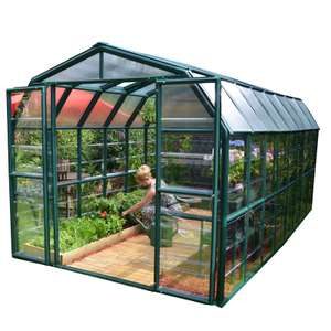 Rion Grand Gardener Green Greenhouse ~ 8 x 16ft for £143.95 delivered @ Homebase