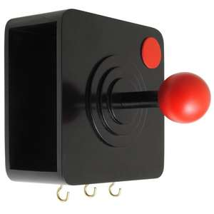 Wooden Retro Joystick Coat Hook With small storage section & key hooks £8.97 Del @ @ eBay (sold by Clubit E-Bay Store)