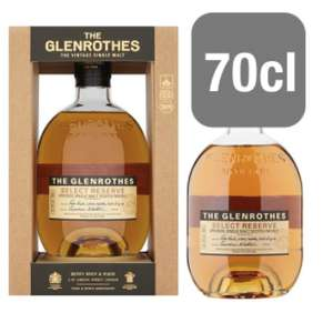 The Glenrothes 70cl Whisky £27 @ Tesco
