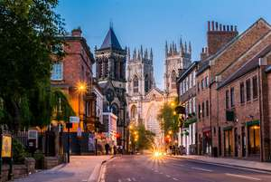 Overnight York Hotel stay for two with breakfast and Superior River View room £61.15  w/code ( £30.57 p.p) @ Wowcher