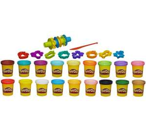 Play-Doh Super Colour Kit (18 Small Pots + 16 Tools) £10.99 each or 2 for £15 at Argos - Party Bag Fillers? More in OP