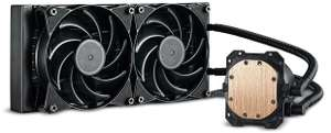 Cooler Master Masterliquid Lite 240 AIO CPU Cooler at Novatech for £34.98 (free C&C or £2.39 standard delivery)