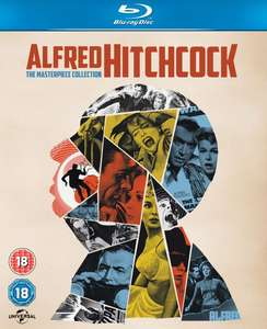ALFRED HITCHCOCK: THE MASTERPIECE COLLECTION BLU-RAY  for £24.29 w/code @ Zavvi