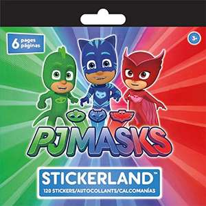 PJ Masks Sticker pad with 6 sheets and 120 stickers in total 1p @ Amazon