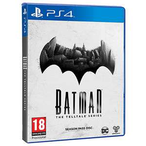 Warner Bros Batman Telltale Series Game Season Pass Disc PS4 , for £9.50 delivered Tesco eBay