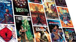 Hundreds of Recent Marvel Collections – 69p each – Comixology discount offer