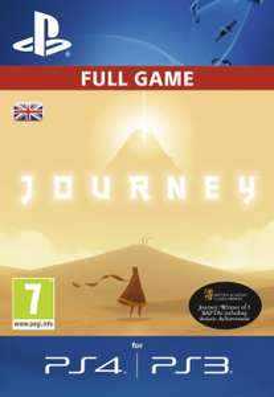 Journey PS4 PSN Code (Full Digital Copy) £3.29 @ Amazon