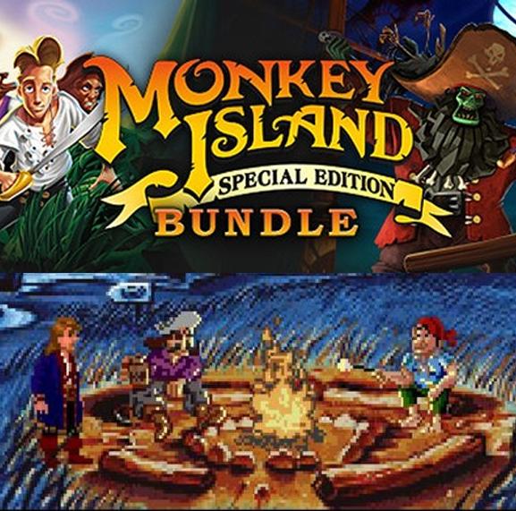 Monkey Island: Special Edition Bundle [Steam] £2.47 using 10% off code @ Fanatical
