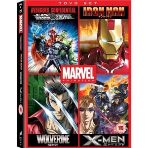 Marvel Anime Collection [7 Disc DVD Boxset]  £6.99 delivered @ 365 Games (X-Man; Iron Man; Avengers; Wolverine)